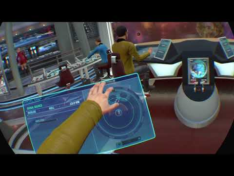 PS4 - PSVR - Star Trek Bridge Crew - Solo Mission with Voice Controls