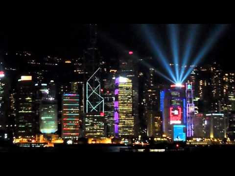 Victoria Harbour Light Show - Hong Kong Impressions