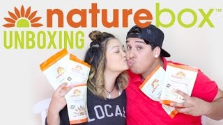 NatureBox Unboxing Ft. JohnnyBoyVlogs