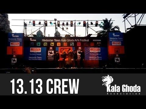 13.13 Crew at Kala Ghoda Arts Festival 2014