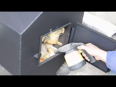 видео: СУПЕР вечная печь!!!