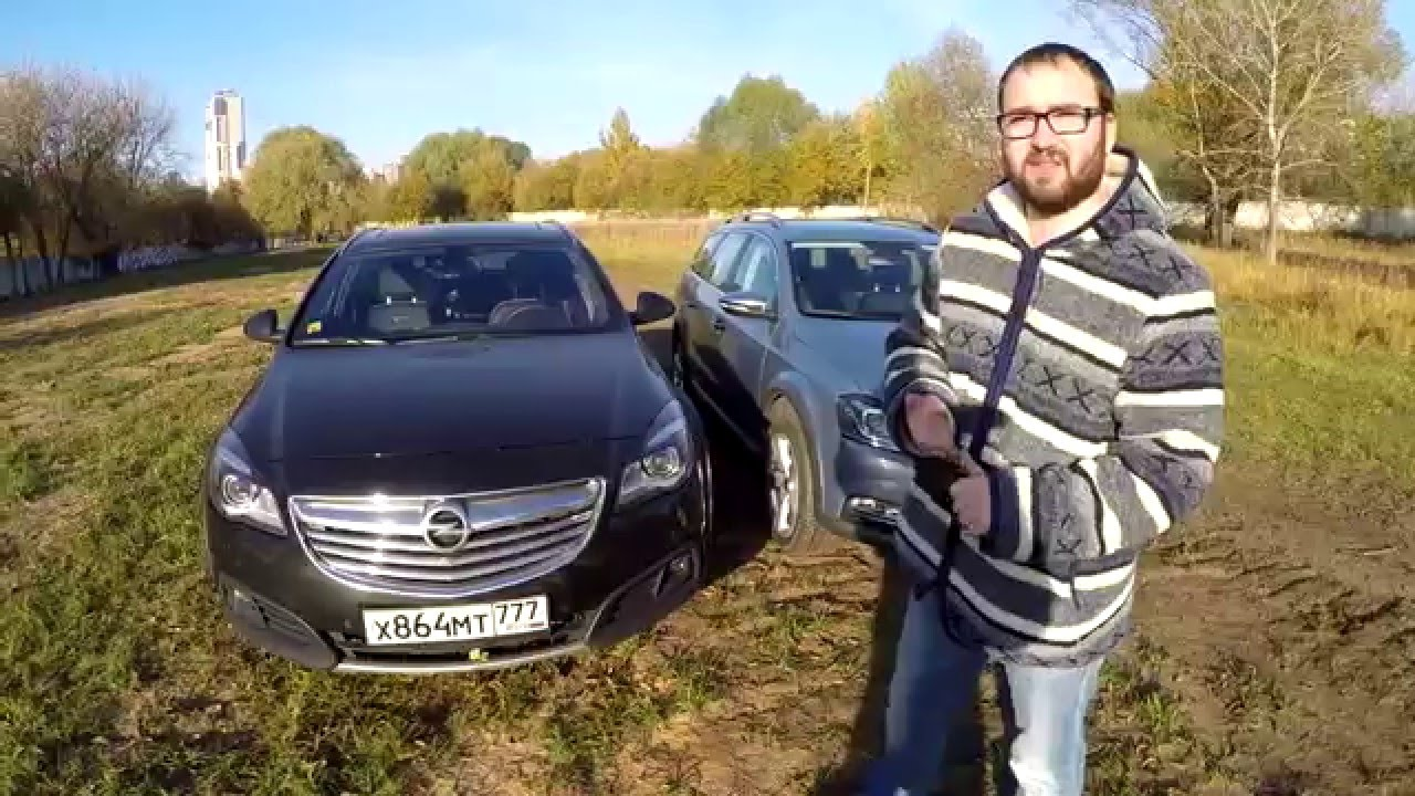 VW Passat Alltrack vs Opel Insignia Country Tourer 4x4 - Версус от .