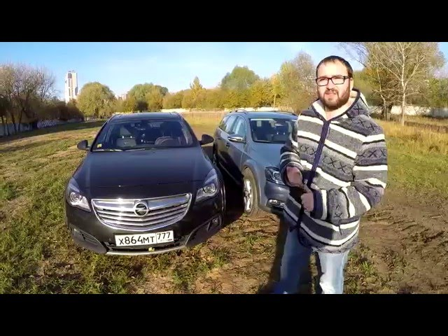 VW Passat Alltrack vs Opel Insignia Country Tourer 4x4 - Версус от ATDrive