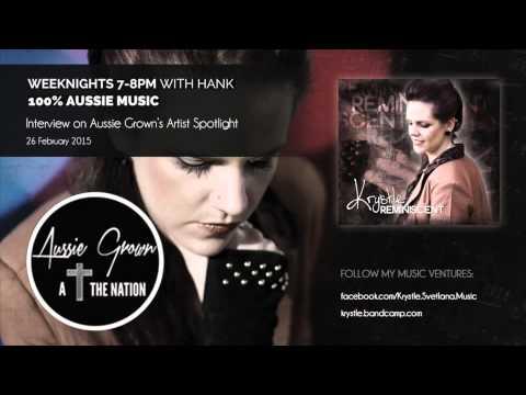 Radio Interview on Aussie Grown's Artist Spotlight Feb 2015
