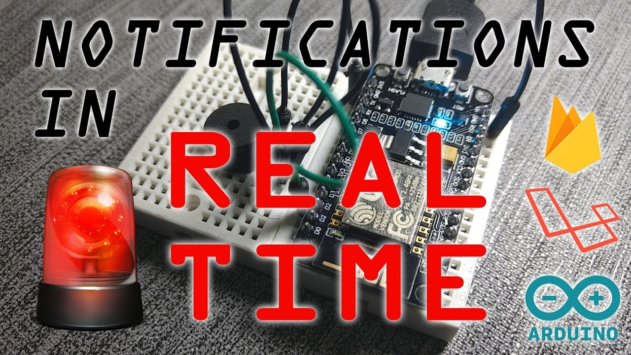 Realtime Event Notifications Using NodeMCU (Arduino), Google Firebase and  Laravel