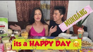 MUKBANG VLOG ft HAPPY DAY APP