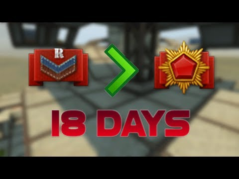 Tanki Online Recruit To Generalissimo In 18 DAYS!? (WORLD RECORD)