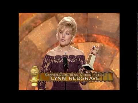 Lynn Redgrave Wins Best Supporting Actress Motion Picture  Golden Globes 1999
