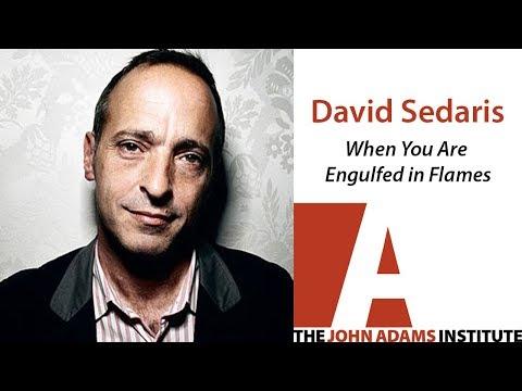 David Sedaris on When You Are Engulfed in Flames - The John Adams Institute Mp3