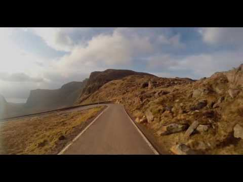 Driving the notorious 2,054ft 'Bealach na Ba' (Pass of the Cattle) - 1080p