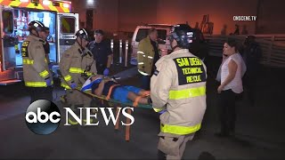At least 20 children injured after a gym platform collapses in San Diego thumbnail