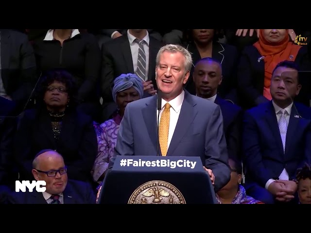 Mayor Bill de Blasio State of the City Address 2019 - New York