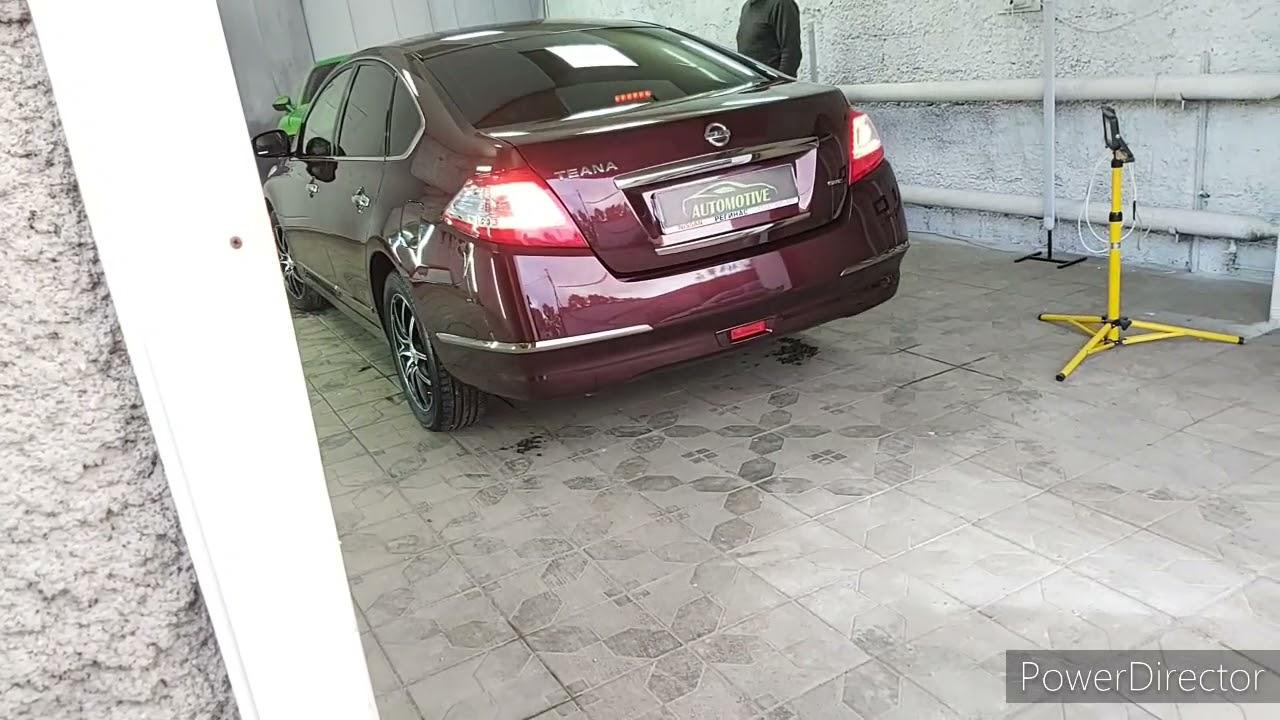 Шикарный блеск Nissan Teana после предпродажной подготовки.