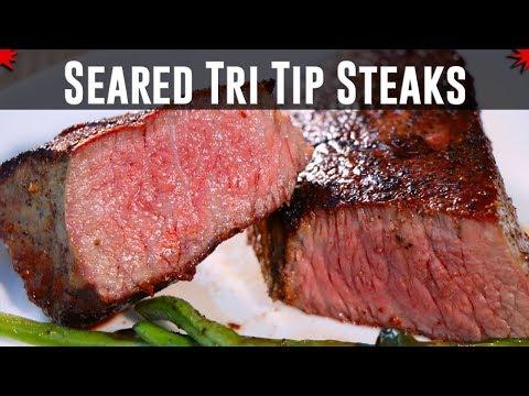 Seared Prime Tri Tip Steak
