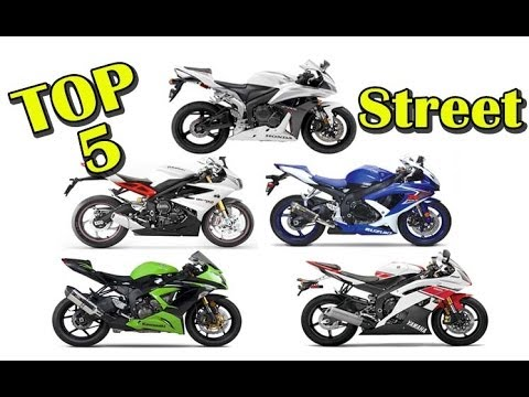 My Top 5 600cc Supersport Street Motorcycles Youtube