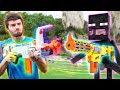 Nerf War: Nerf meets Minecraft 1