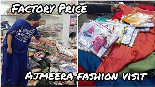 Rs.55 Onwards Designer Kurtis | New Catalogs Direct From Surat Factory | Ajmeera Fashion Tour visit
