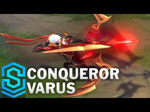 Conqueror Varus Skin Spotlight - Pre-Release - League of Legends