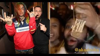 J Prince Jr brings 50 Goons to SXSW and Stand on Stage at 6ix9ine Show... 6ix9ine Did not Perform