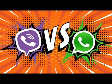 WhatsApp против Viber - Битва мессенджеров