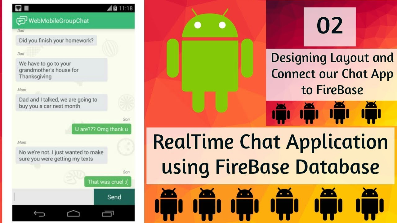 18 Chat App Android