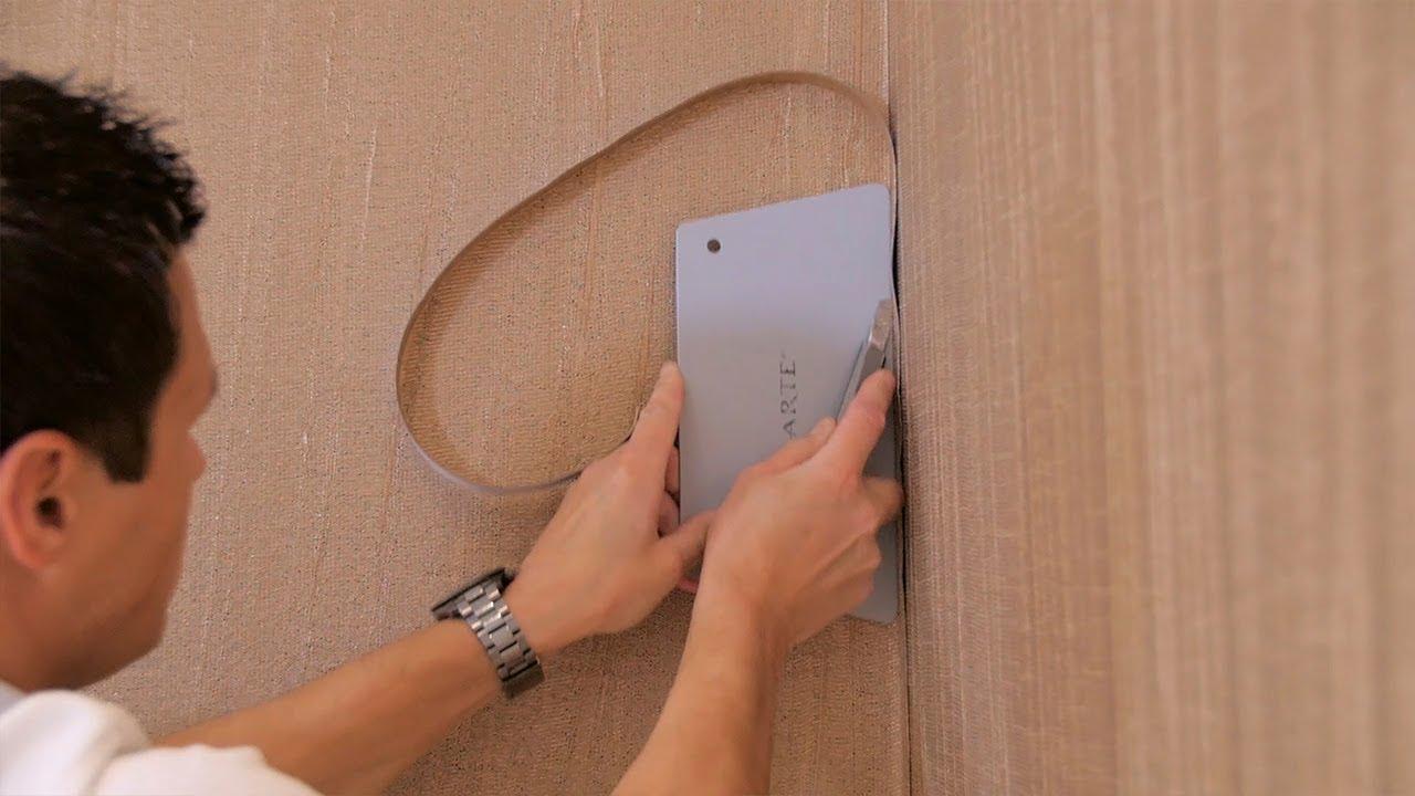 Decoller Papier Peint Intissé poser du papier peint textile sur intissé