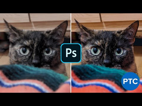 POWERFUL Photoshop Filter To INSTANTLY REMOVE Ugly JPEG Compression Artifacts