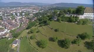 Heliflug über Lenzburg