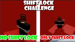 ShiftLock Challenge On Tower Of Hell | ROBLOX