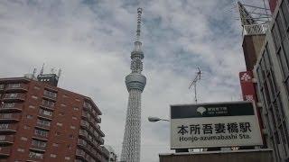 【都営浅草線】本所吾妻橋駅  Honjo-azumabashi