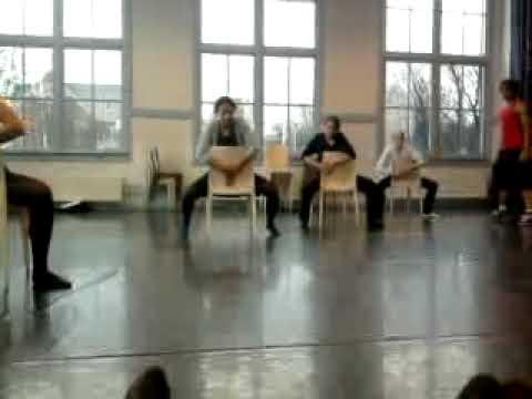 MBO Theaterschool zelfgemaakte dans