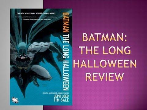 Batman: The Long Halloween Comic Book Review