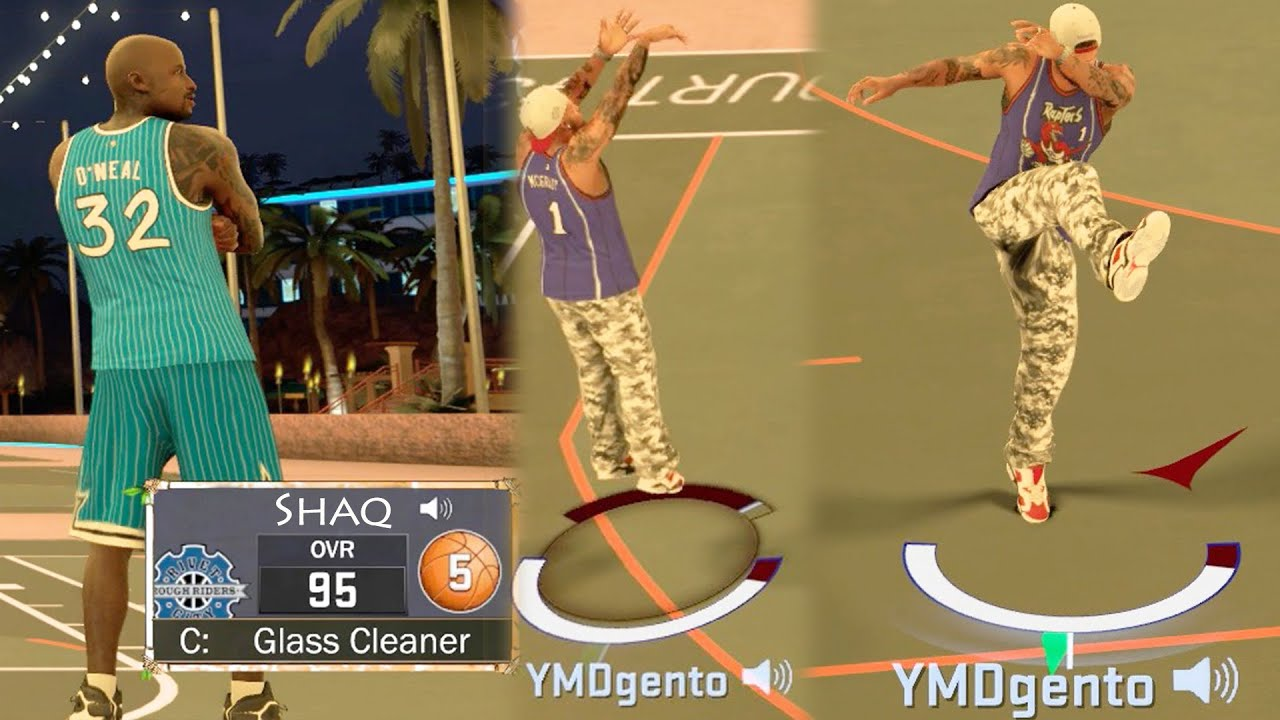 NBA 2k17 MyPARK - Shaq at the Park! Epic Game Winner! Road to Legend Ep. 2