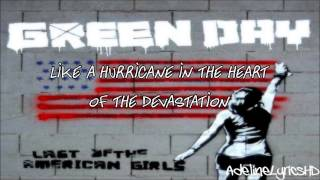 Green Day - Last Of The American Girls - Lyrics