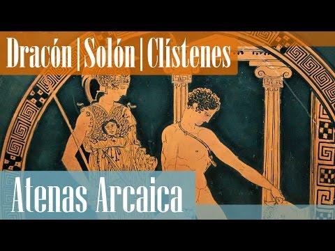 Las reformas de Dracón, Solón y Clístenes de Atenas   Grecia Arcaica hasta la democracia