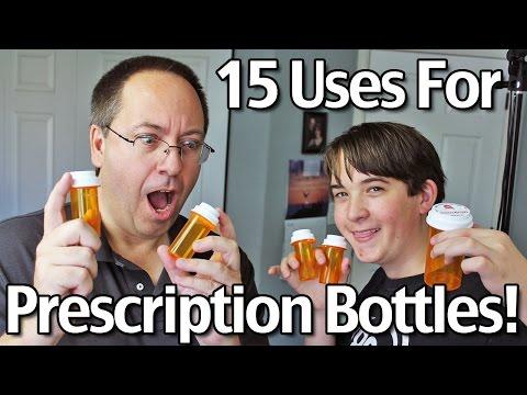 15 Uses For Prescription Bottles