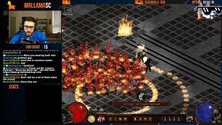 Diablo 2 - Median XL LVL 125 UBER FIGHTS Part 2!