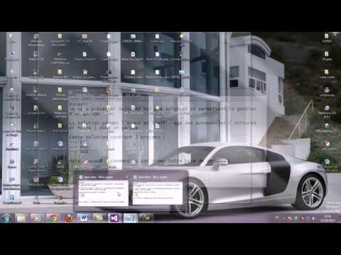 Tuto c solution gestion de garage with database for Gestion de garage