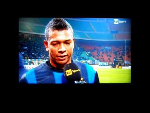 Guarin_bellissimo gol_inter-bologna Coppa Italia 15/01/2013_più intervista