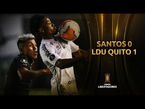 Santos LDU Quito Goals And Highlights