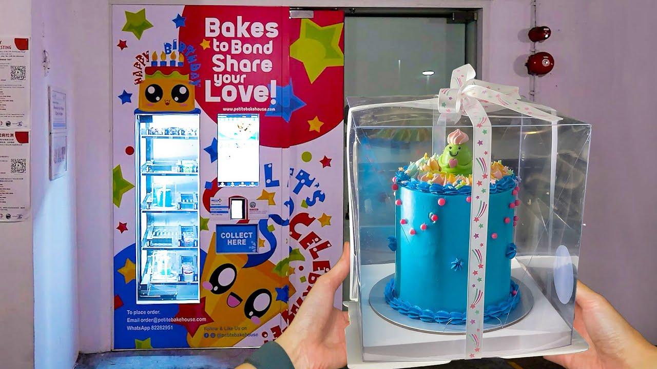 Birthday Cake Vending Machine