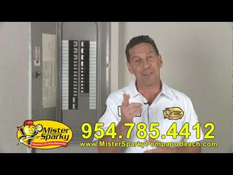 Mister Sparky -  Pompano Beach - Common Electrical Problems - America's On Time  Electrician