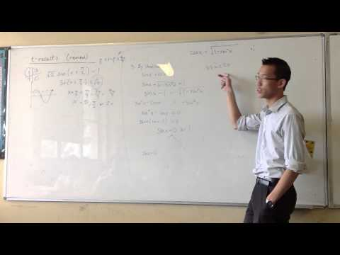 sin(x) + cos(x) = 1 by Identities (Flawed)