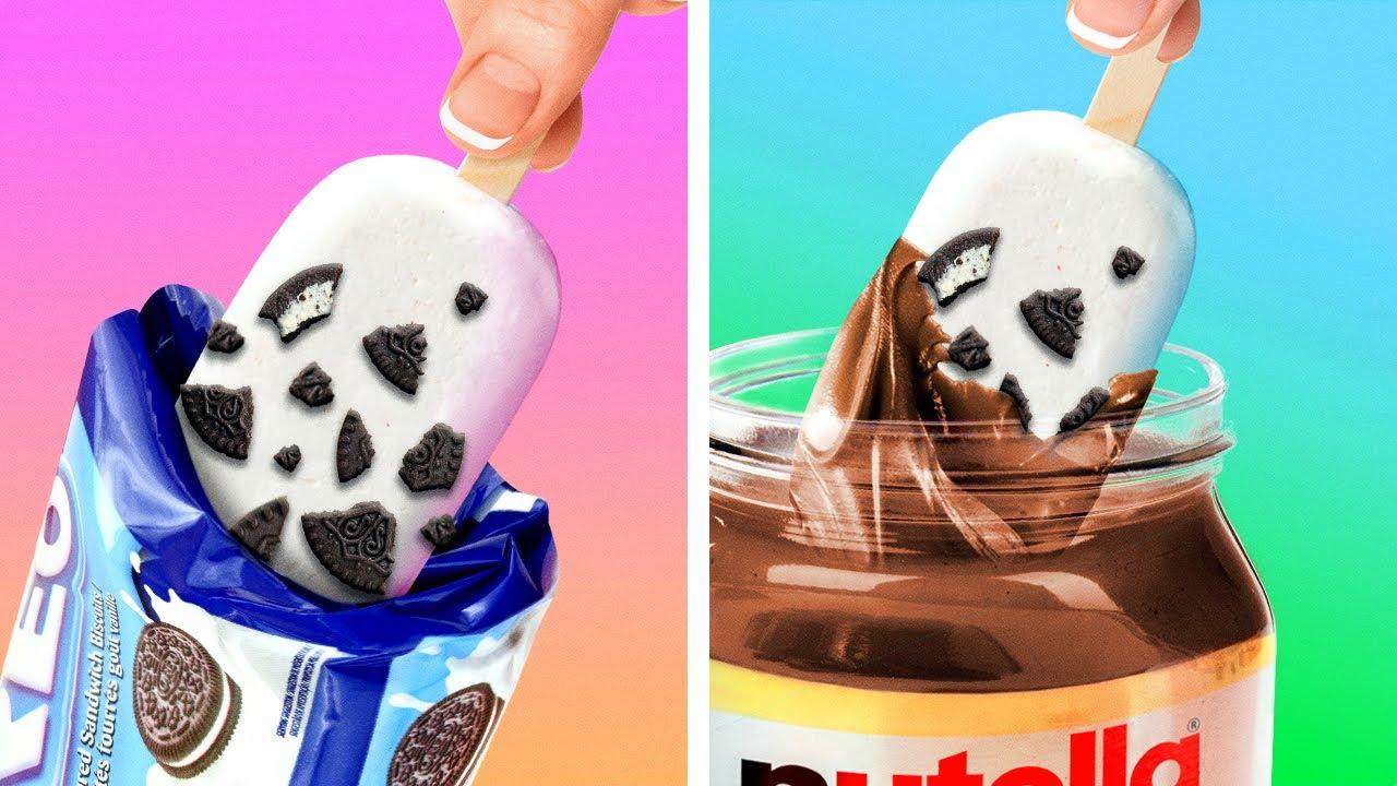 CHOCOLATE HACKS & YUMMY RECIPES || EASY SNACKS FOR KIDS