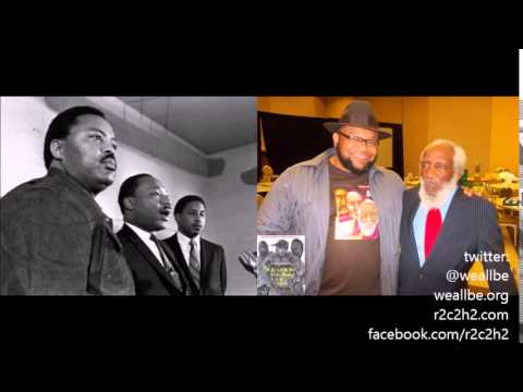 Baba Dick Gregory Goes H.A.M.!!! MLK & Hosea Williams Were Lovers? Coretta Was A Lesbian?