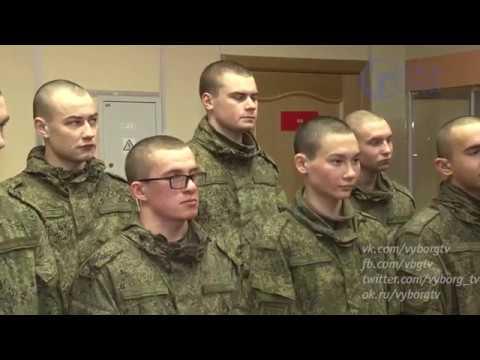 Предпраздничный репортаж из воинской части в пос. Каменка