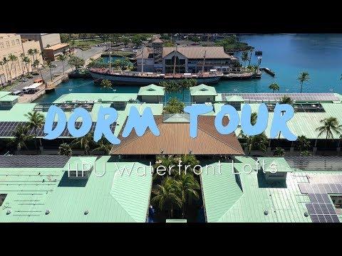 DORM TOUR!   HPU WATERFRONT LOFTS!