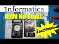 Digital Multimeter Kit Build DT830B DMM - Electronic Beginners Project From Banggood