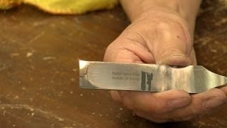 Preparing and sharpening a woodworking chisel | Paul Sellers