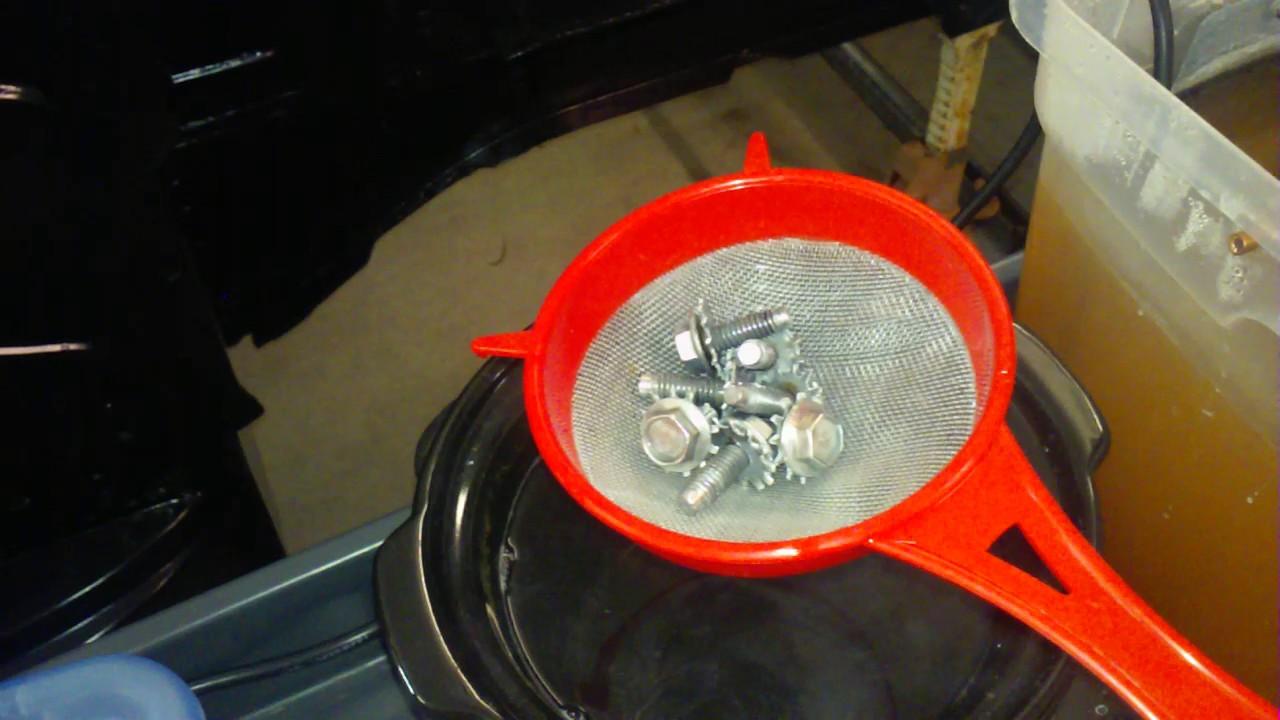DIY ZINC ELECTROPLATING PART 3